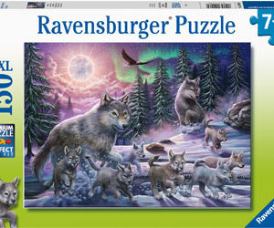 Ravensburger Northern Wolves Puzzle 150pc