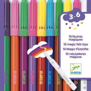 Djeco DJ8827 10 Magic Felt Tips