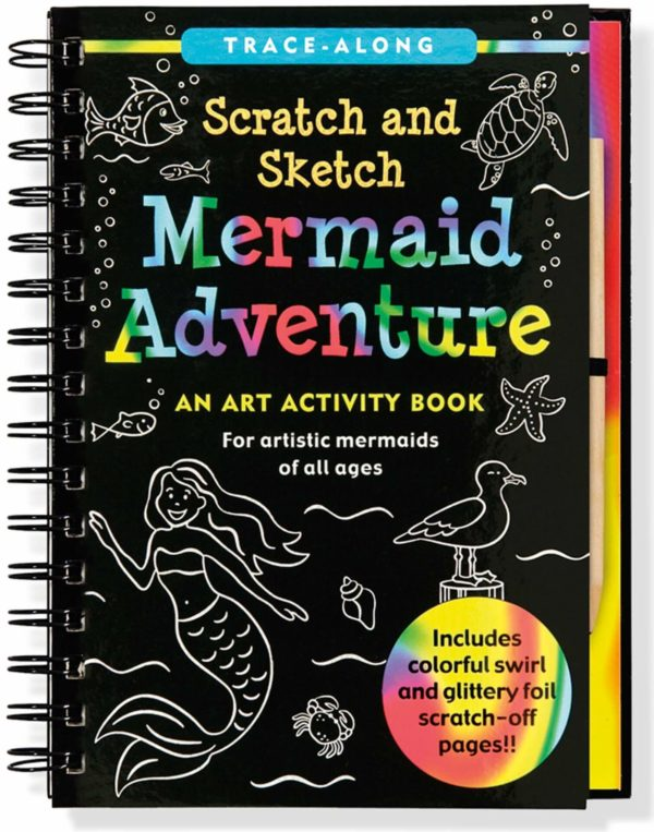 Scratch & Sketch Mermaid Adventure Book