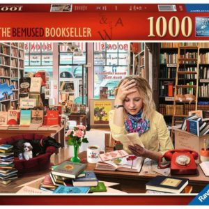 Ravensburger The Bemused Bookseller Puzzle 1000pc