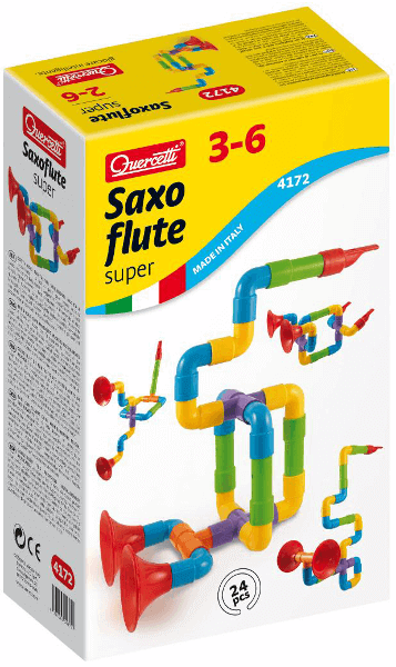 Quercetti Super Saxoflute 24pc