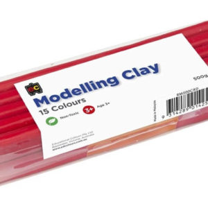 Red Modelling Clay 500g