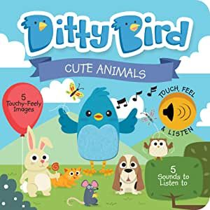 Ditty Bird Cute Animals Book
