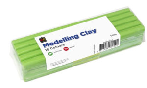 Light Green Modelling Clay 500g