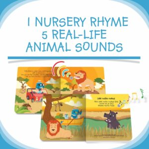 Ditty Bird Safari Animal Sound Book