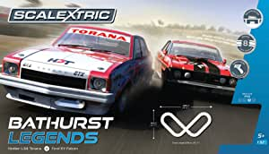 Scalextric Bathurst Legends Holden L34 Torana V Ford XY Falcon