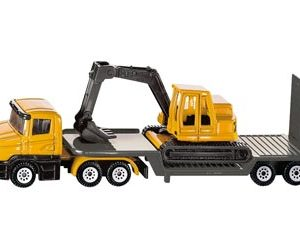 Siku 1611 Low Loader & Excavator