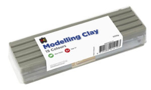 Grey Modelling Clay 500g