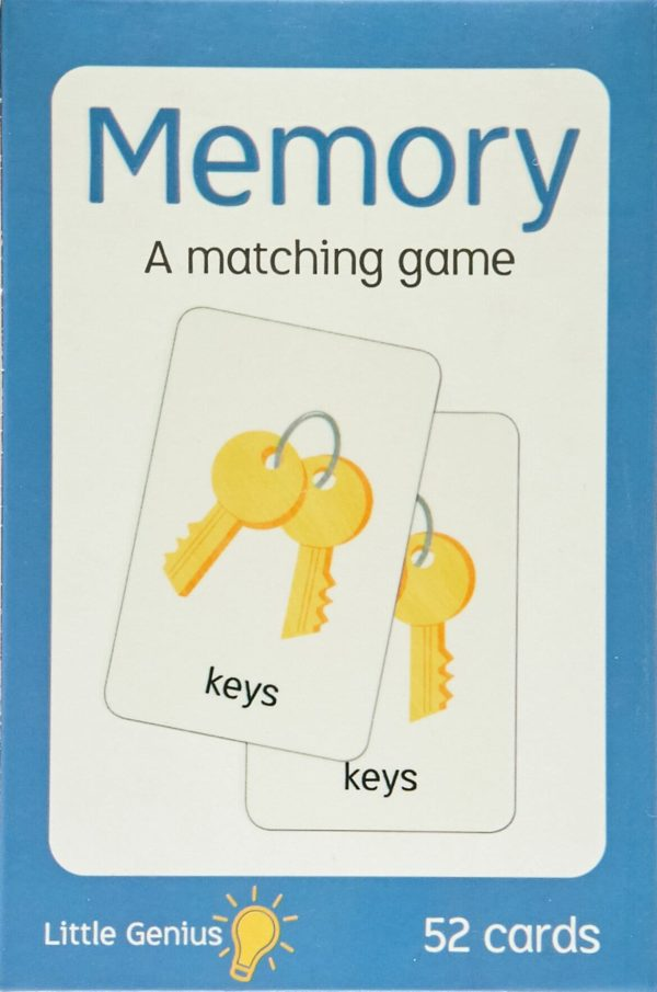 Little Genius Memory Matching Game 52cards