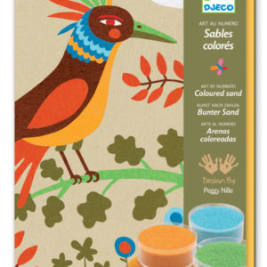 Djeco DJ8639 Birds of Paradise Coloured Sands