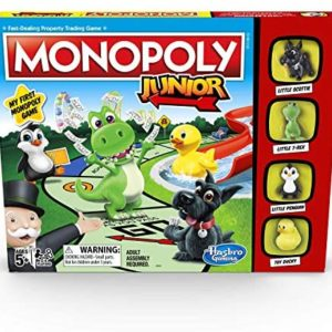 Monopoly Junior: My First Monopoly Game!