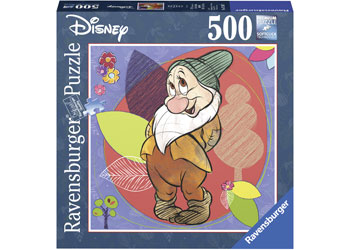 Ravensburger Disney Bashful Puzzle 500pc Square