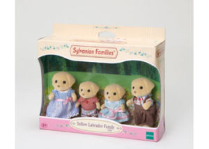 SF 5182 Yellow Labrador Family