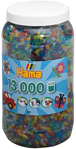 Hama Beads Glitter Mix 13,000 pcs