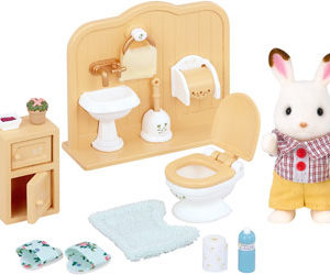 SF 5015 Chocolate Rabbit Brother Set