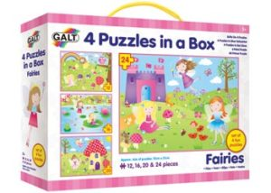 Galt 4 Puzzles in a Box Fairies