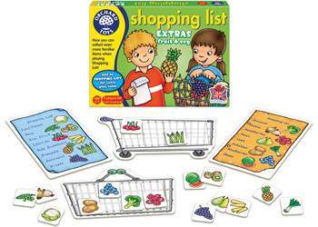 Orchard Toys Shopping List Booster Fruit and Vegetables