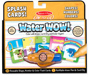 MND Water WOW! Splash Cards Numbers!