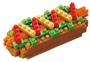 Nano Block Hot Dog 120pc