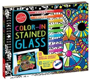 Klutz Colour-in Stained Glass Book