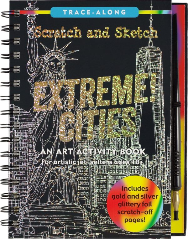 Scratch & Sketch Extreme Cities