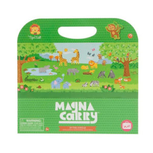 Magna Carry Jungle Play Book Tiger Tribe