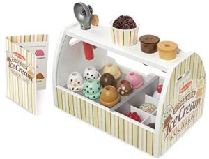 M&D Scoop And Serve Ice Cream Counter
