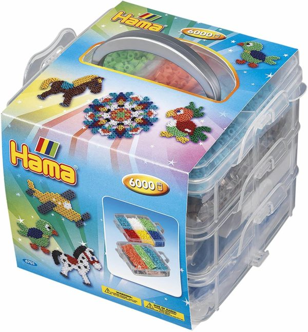 Hama Beads Complete Kit 6000pcs