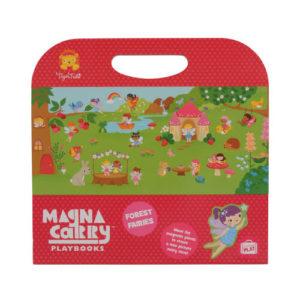 Tiger Tribe Magna Carry Forest Fairy Play Book