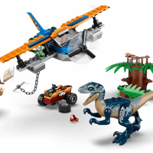 LEGO Jurassic World 75942 Velociraptor: Biplane Rescue Mission