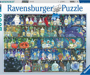 Ravensburger Poisons and Potions Puzzle 2000pc