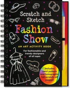 Scratch & Sketch Fashion Show Book