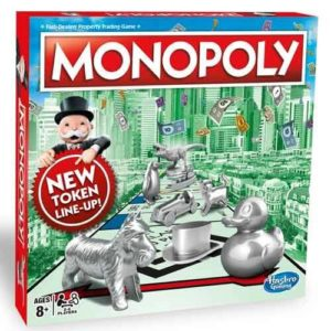 Monopoly Classic New Tokens