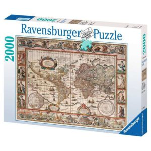 Ravensburger Map of the World 1650 Puzzle 2000pc