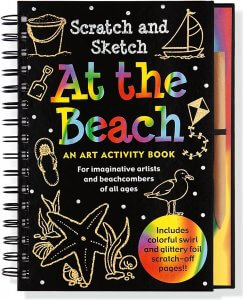 Scratch & Sketch At the Beach Book