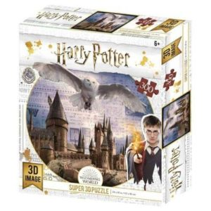 Hogwarts & Hedwig Harry Potter Prime 3D Puzzle 300pc