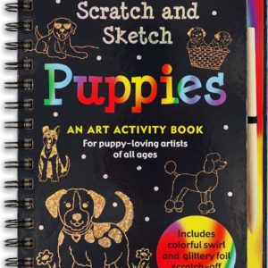 Scratch & Sketch Puppies (Trace Along) Book