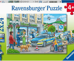 Ravensburger Police At Work Puzzle 2x24pc