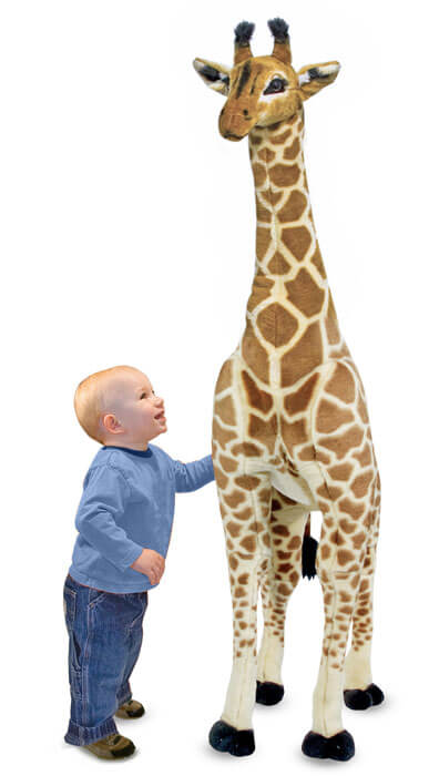 M&D Large Plush Giraffe