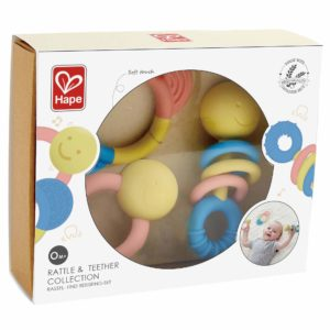 Hape Rattle & Teether Collection 3pk