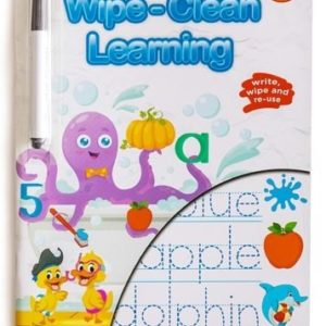 First Words: Wipe-Clean Learning