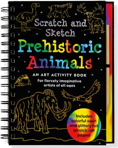 Scratch & Sketch Prehistoric Animals