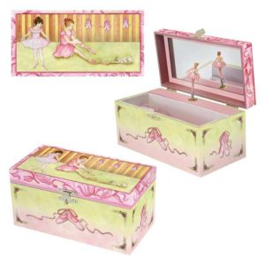 Ballet Shoes Musical Jewellery Box