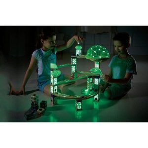 Glow In The Dark Quadrilla Marble Run
