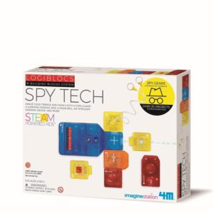 4M Logiblocks Spy Tech