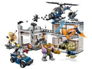 LEGO Marvel Super Heroes 76131 Avengers Compound Battle