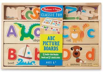 M&D ABC Picture Boards