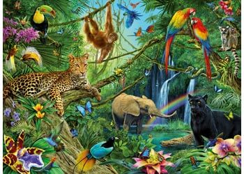 Ravensburger Animals in the Jungle Puzzle 200pc
