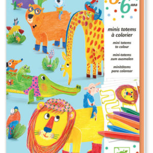 DJeco DJ9861 Mini Totems Colour 3-6 yrs
