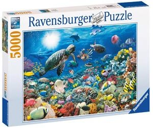 Ravensburger Underwater Tranquility Puzzle 5000 Pcs